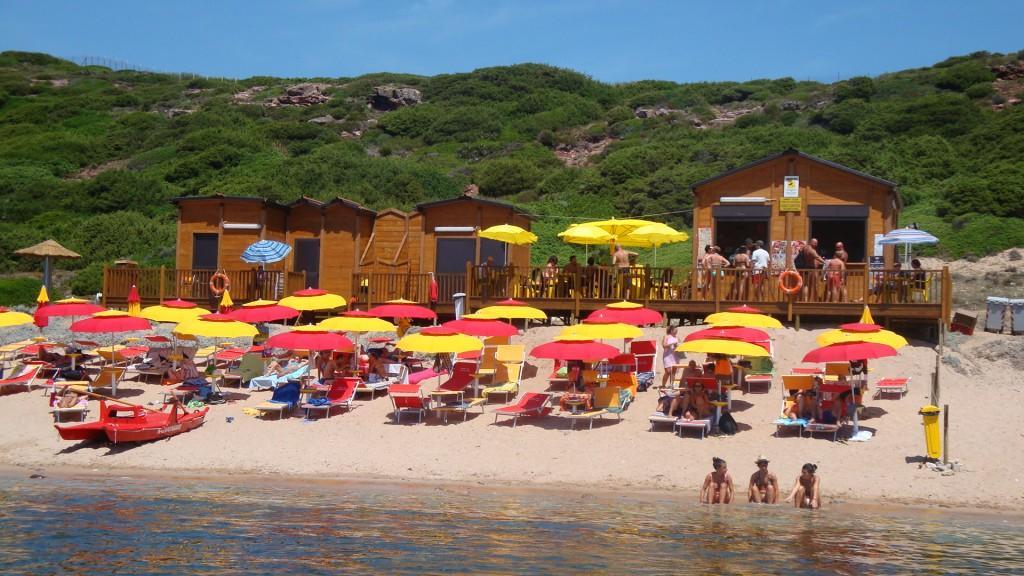 Bungalow camping village bord de mer Alghero Sardaigne