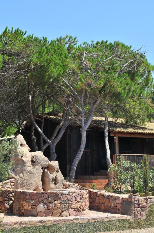 Chalet dans camping Village Bord de mer Alghero Sardaigne