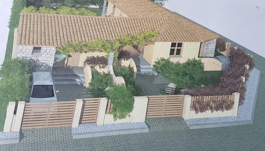 Villa Porto Frailis 300 m plage Baia San Gemiliano Arbatax