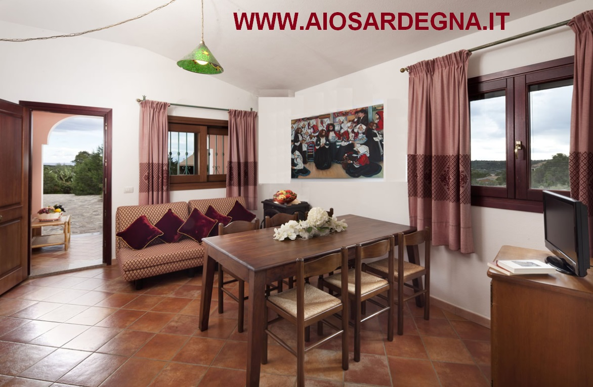 Appartement Résidence Cala Ginepro I graniti 2 chambres 4 pax Orosei
