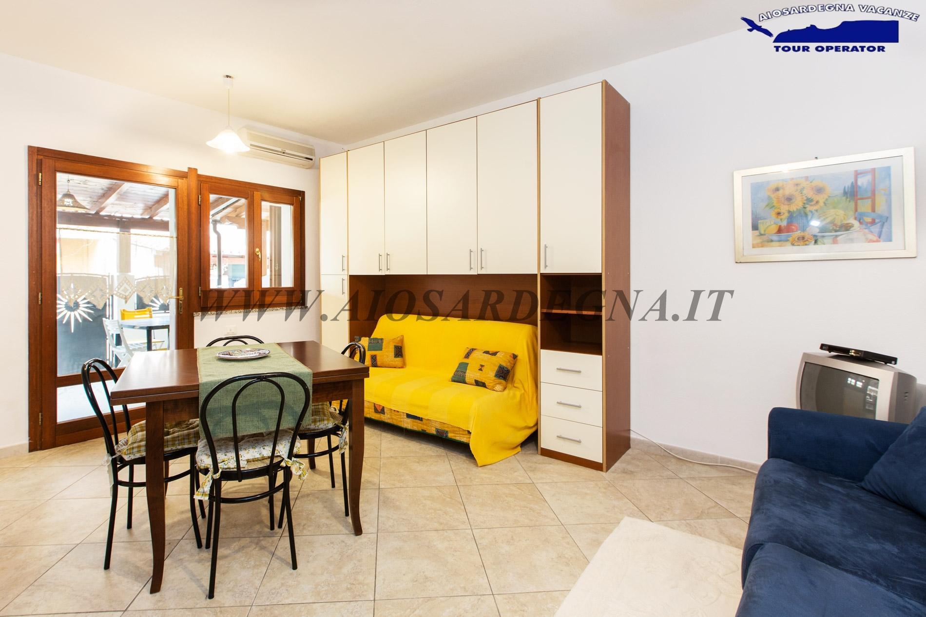 Однокомнатное Апартаменто Мулвони на Первом Етаже в Пуле, Сардиния