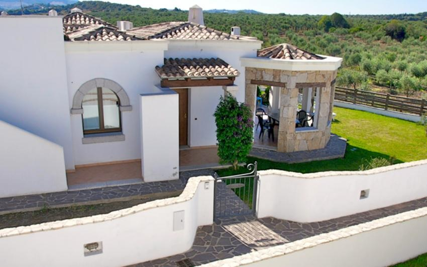 Residence, Panoramic villa with pool 4 rooms Alghero
