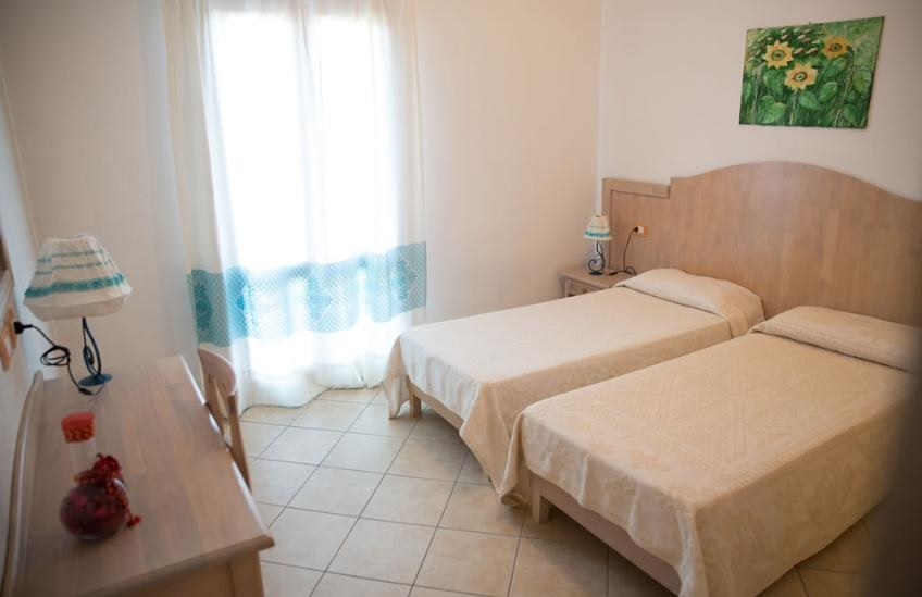 Residence Panorama mit Pool Budoni 3-zimmer-Apartment 6 pax