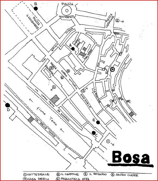 Location Vacances Appartemen 2 Chambres standard Bosa