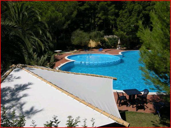 Vermietung Leerstand 2-zimmer-Residenz Pinus Village, 200 m Strand Santa Margherita di Pula