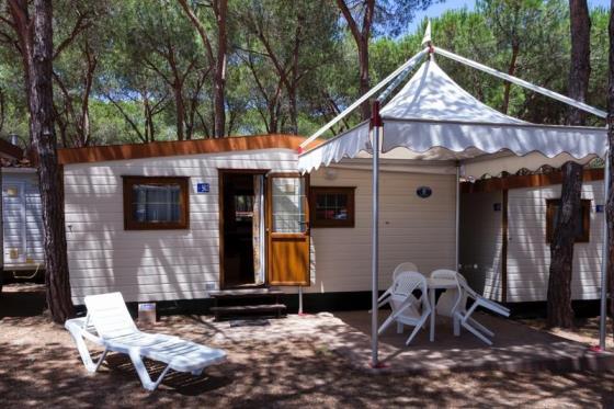 Camping village mobilheim Gallura, Sardinien nord direkt am meer
