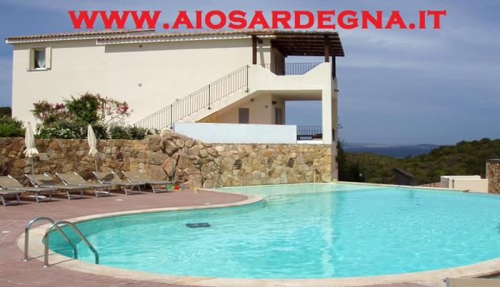 Holiday Residence with swimming Pools and Playground for children Studio seaside Baja Sardinia Olbia