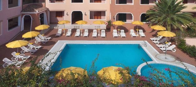 Residenz Sos Alinos in Cala Ginepro Wohnung urlaub Cala Liberotto auf Sardinien