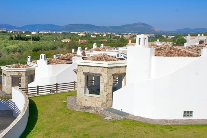 Ferienhaus Alghero Residenz mit Pool