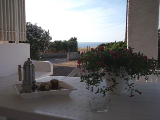 Zwei-zimmer-wohnung mit einer schönen aussicht Valledoria