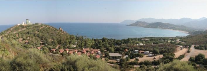 Location Vacances Bungalow Mobil-Home dans un camping village Bord de mer à Ogliastra Sardaigne Orientale