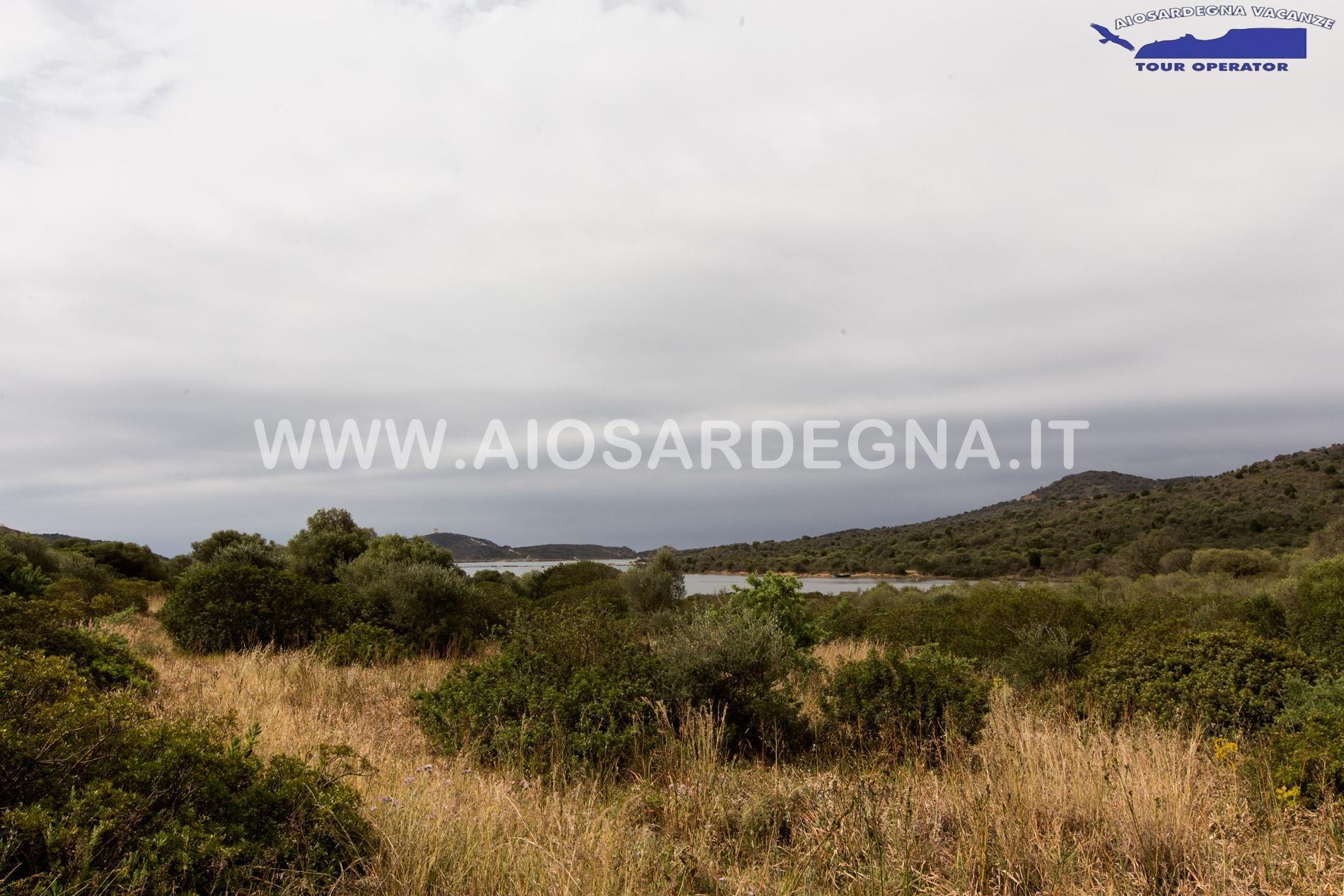 Wohn-Typischen Capo Malfatano Chia, Süd Sardinien