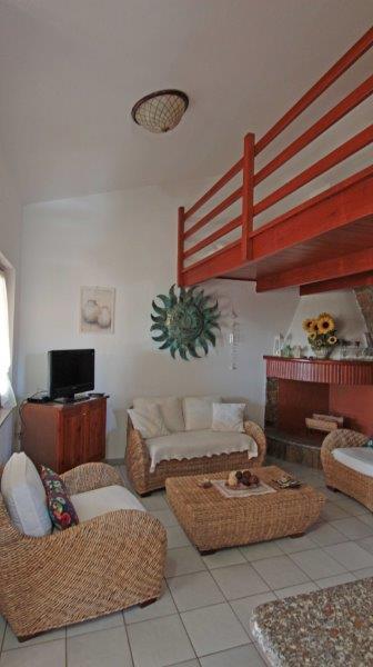 Villa Caposchiera 1. stock strand Su Giudeu Capo Spartivento auf Sardinien