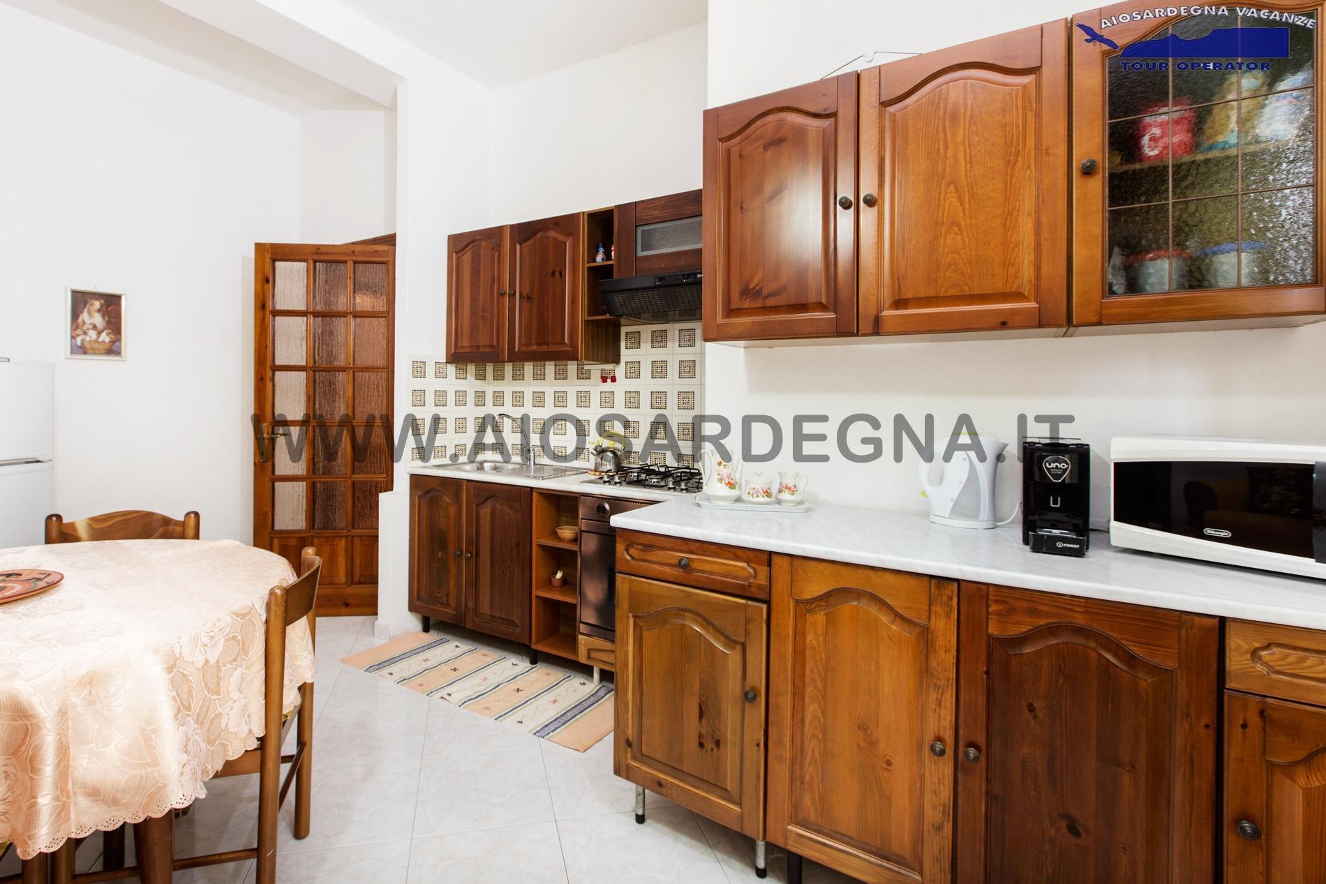 House two 2 WiFi apartment Trilo with garden Pula Sardinia