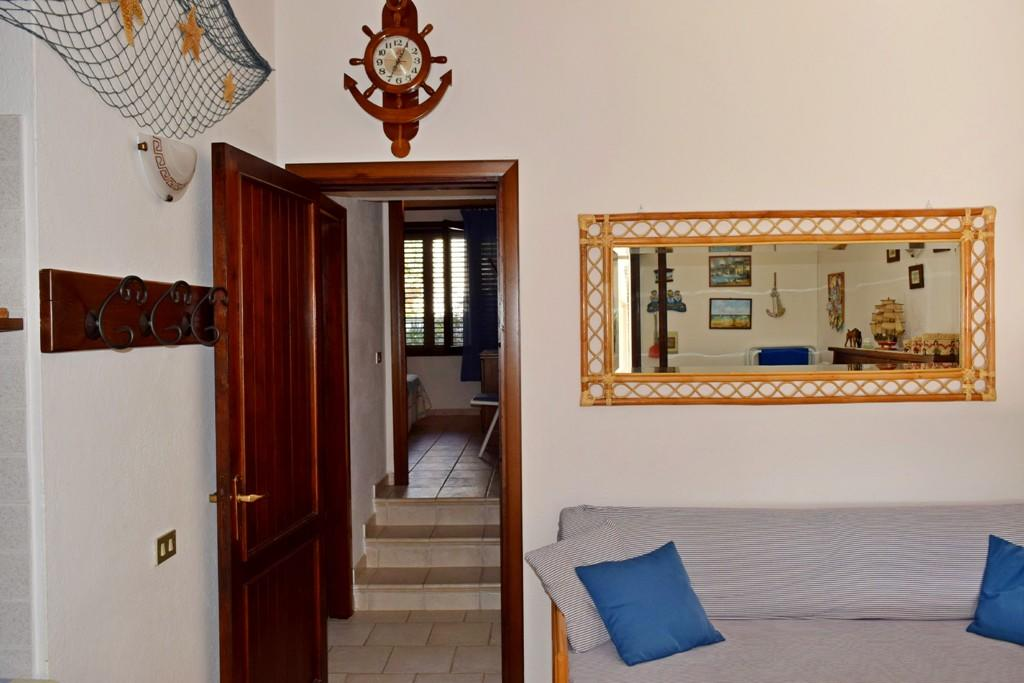 Holiday house with sea view in Cala Caterina is located in Villasimius, Sardinia