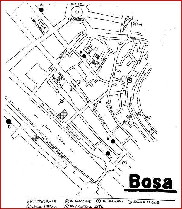 Dom Le Conce w Bosa