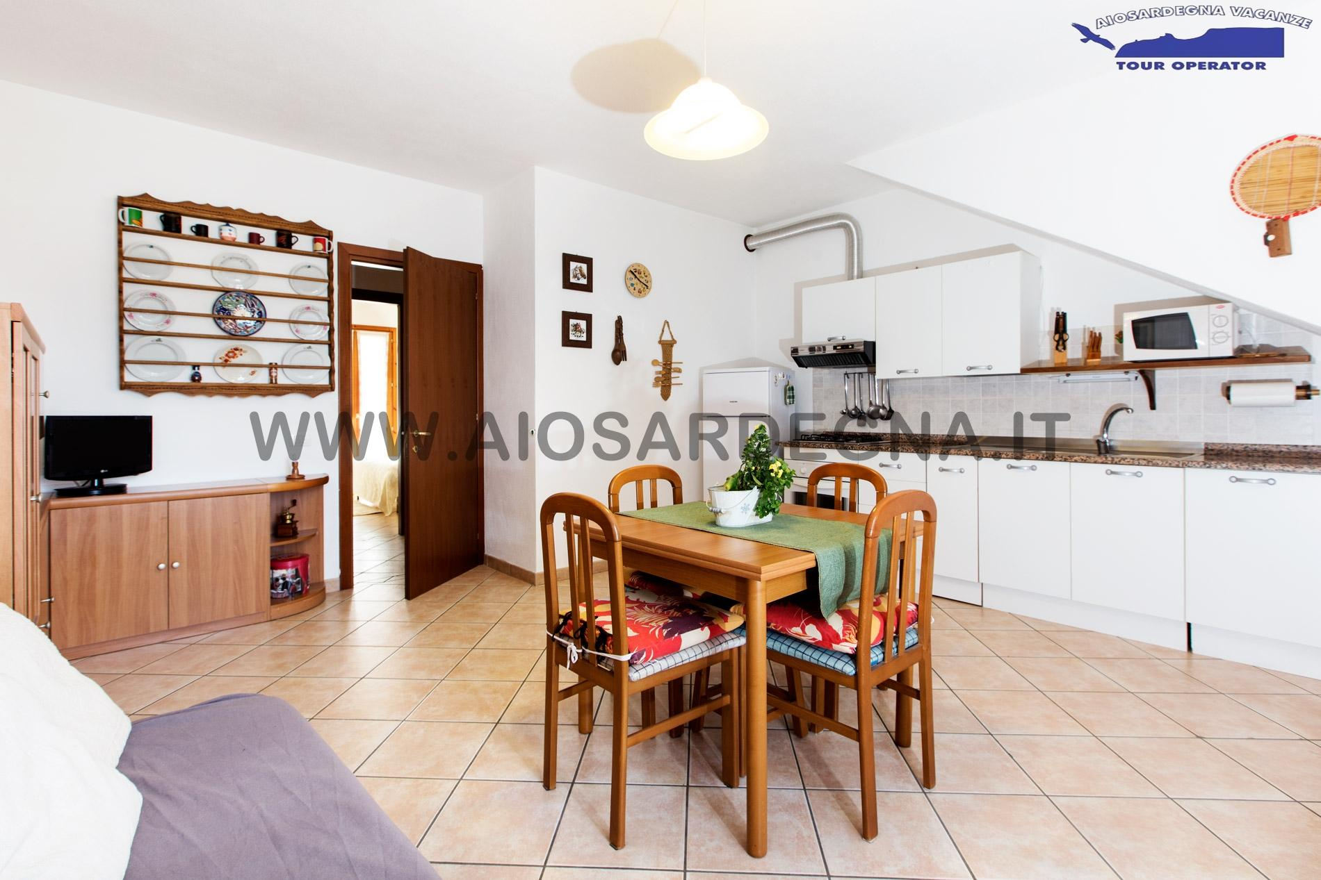 Maison Vacances Silvia centre ville Pula Sardaigne Sud