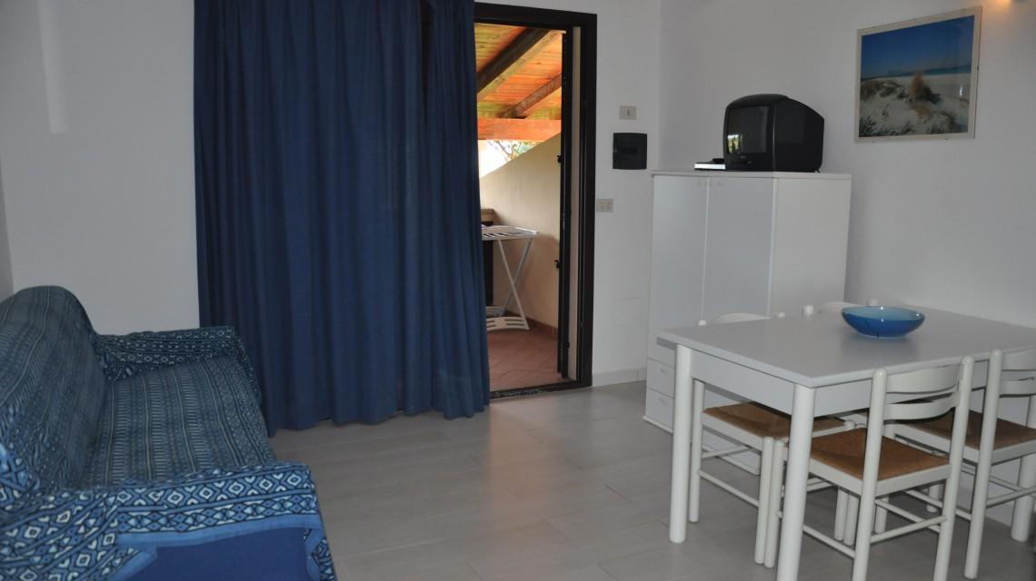 Apartament z 2 sypialniami Residence nad morzem w San Teodoro
