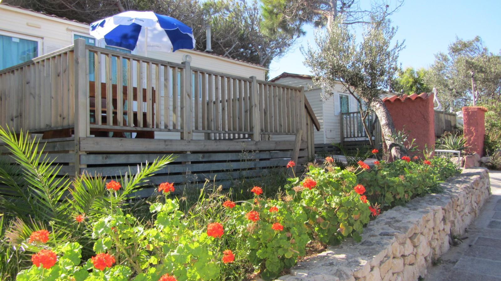 Prestiżowy Bungalow Camping Village Alghero na plaży