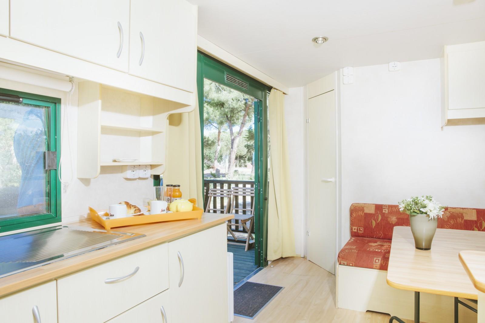 Mobil-Home of luxury Camping village seaside Alghero