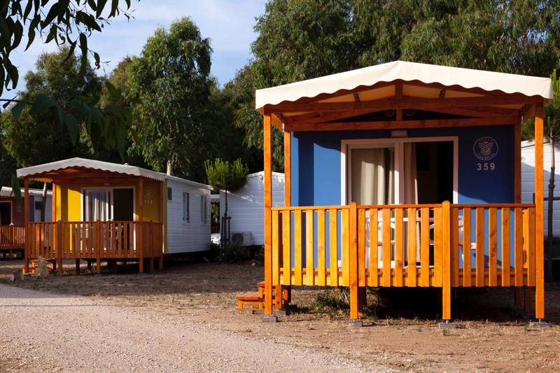 Mobile home Relax 3 pieces camping Seafront in Alghero