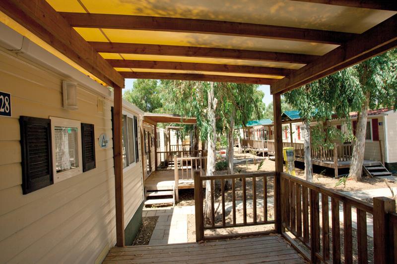 Maison Mobile Smeraldo Camping Village pieds dans l'eau Alghero