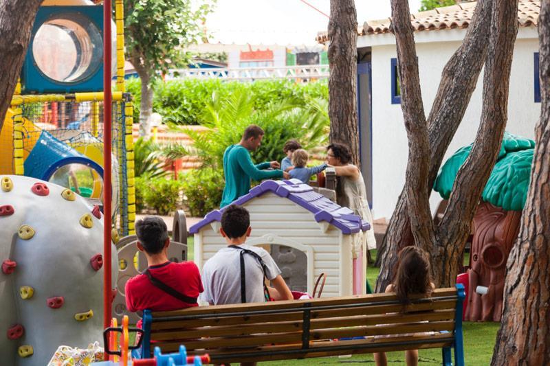 Kemping mobilne domy w Aglientu Gallura, Sardynia