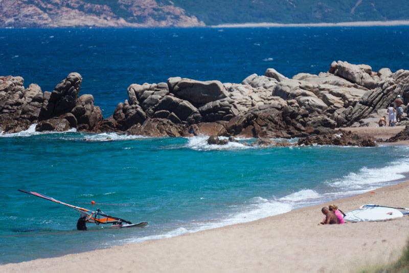 Urlaub camping Village direkt am meer Sardinien Nord