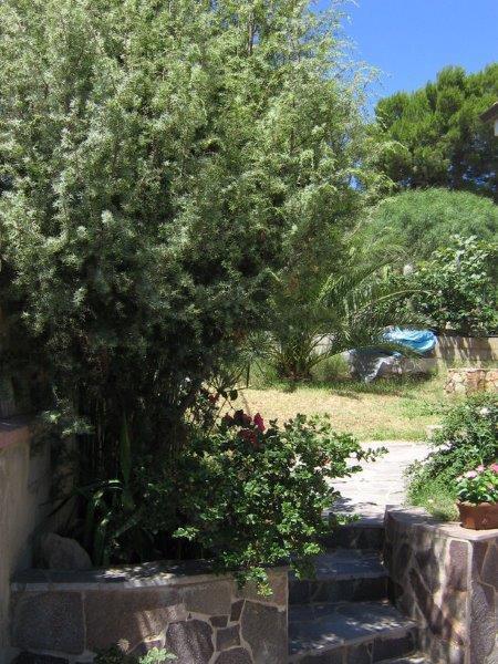 Апартамент Пиа 1 в Порто Пино в 700 м от моря на Сардинии