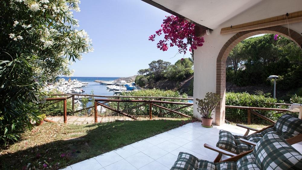 Villa Margherita Calaverde 150m am Strand von Santa Margherita