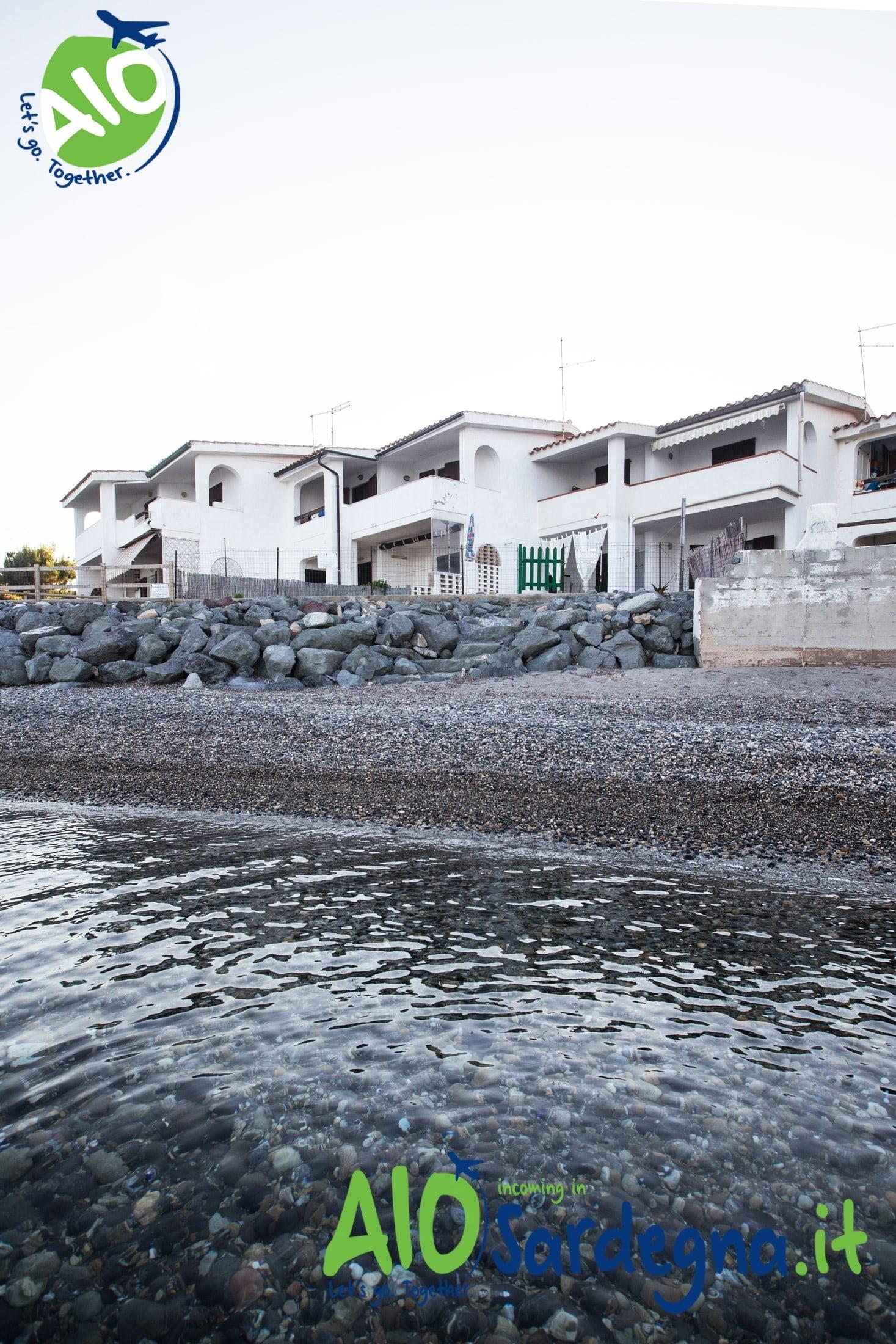 Villa facing the sea Perd'e Sali, Pula, sardinia