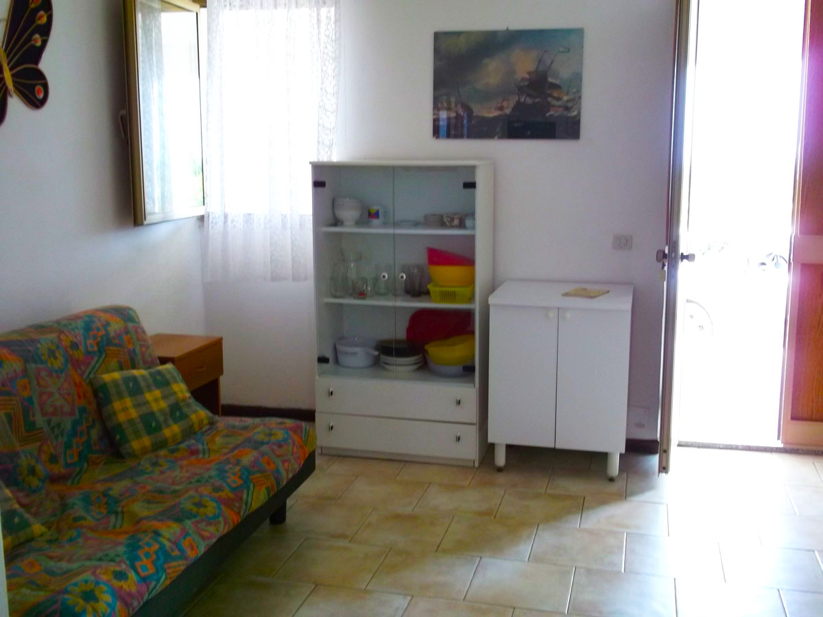 2-room apartment with a beautiful view of Valledoria