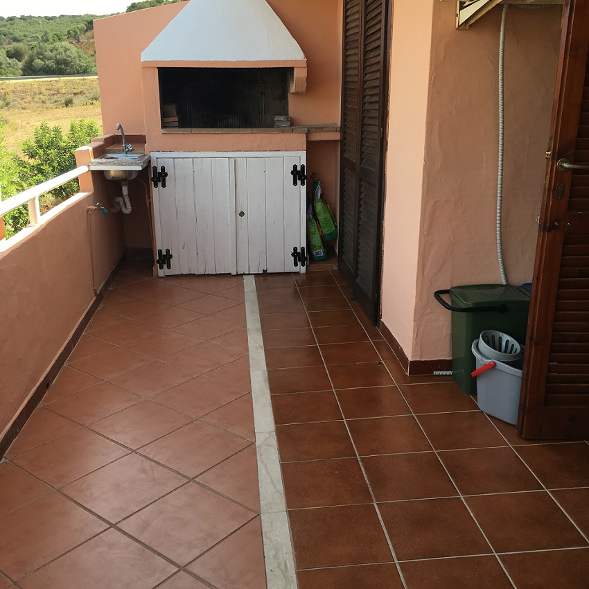 Apartment vacancy pan Villasimius Sardinia
