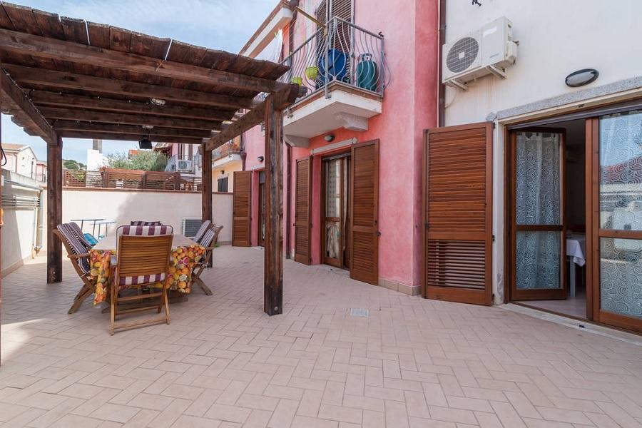 Haus Agosto 3 Teile das Zentrum von Pula, Sardinien