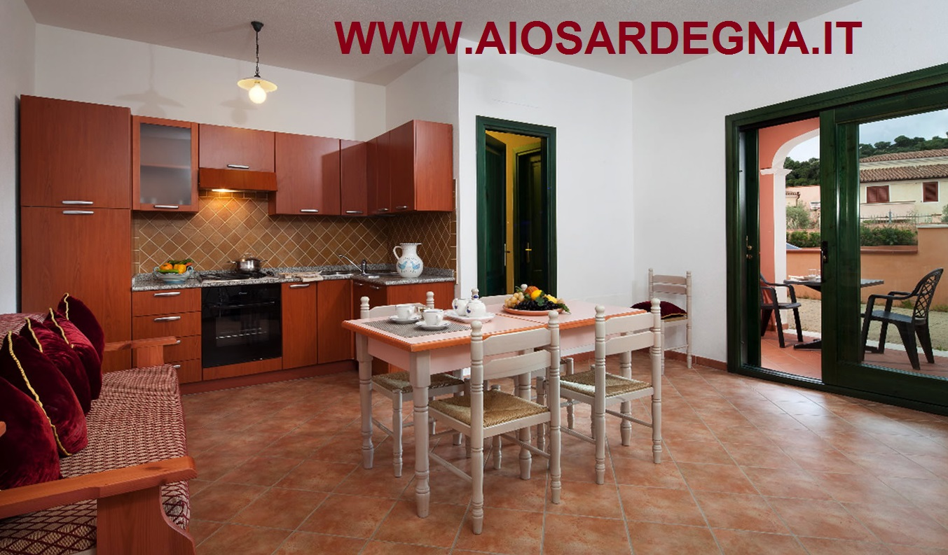 Appartement Le Ginestre Cala Liberotto 2 piéces 3 pax
