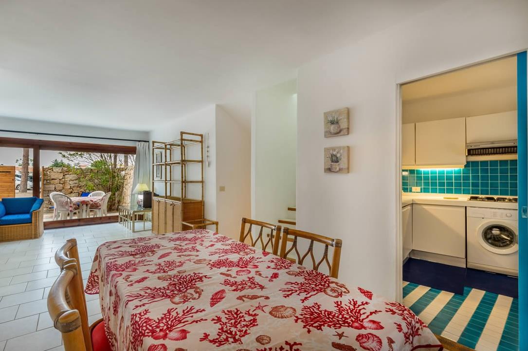 Residence Baia Sardinia direkt am meer der Costa Smeralda, Wohnung 4 zimmer