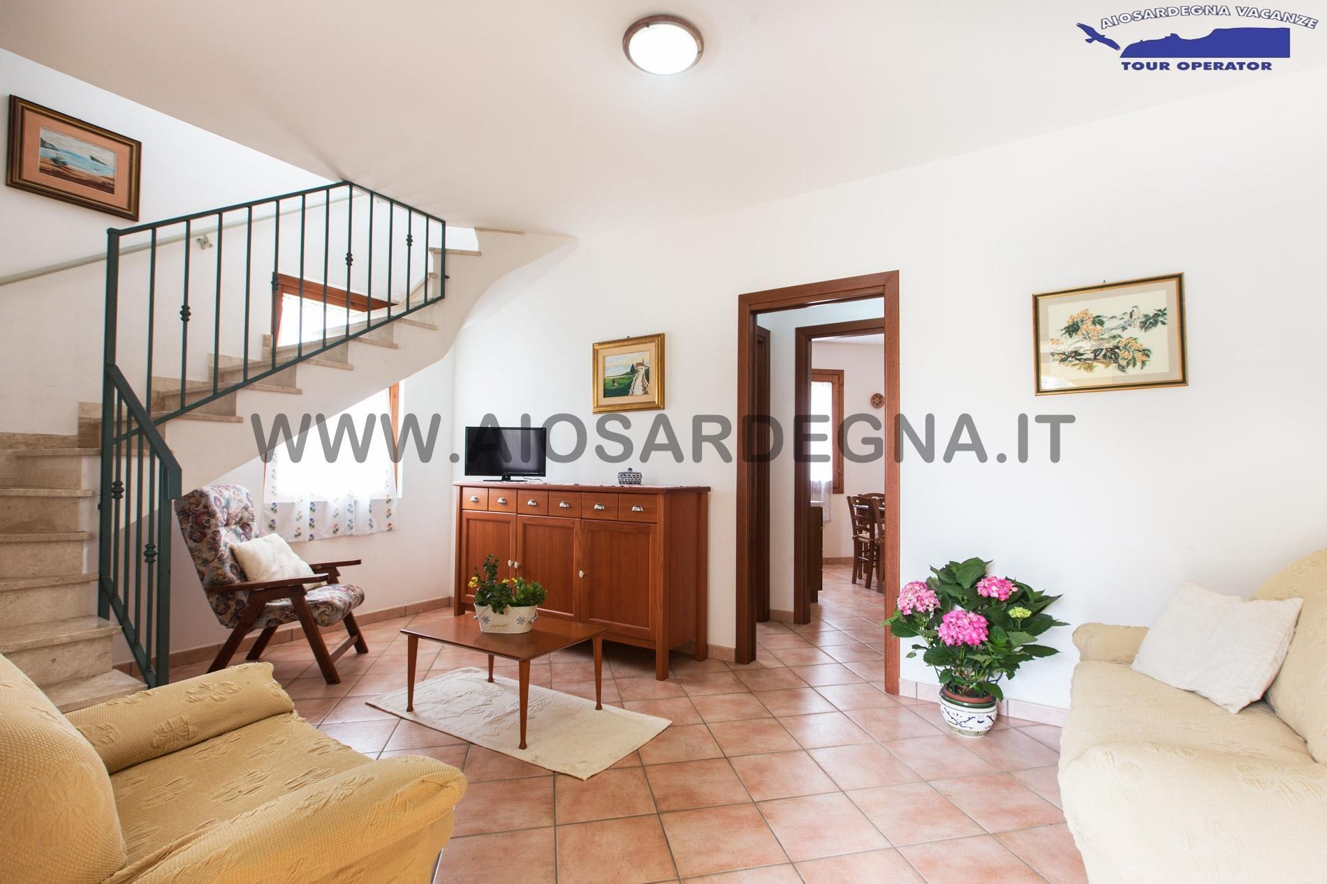 Villa Silvana 800 m Strand von Nora Pula Sardinien