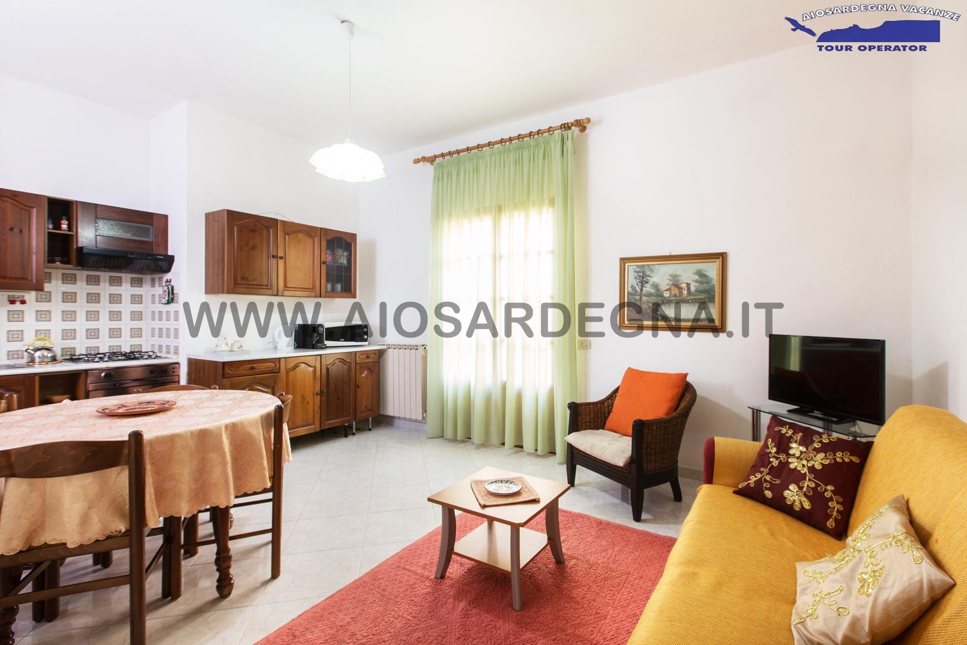 Dwa domu WiFi apartament Trilo z ogrodem Pula Sardynia
