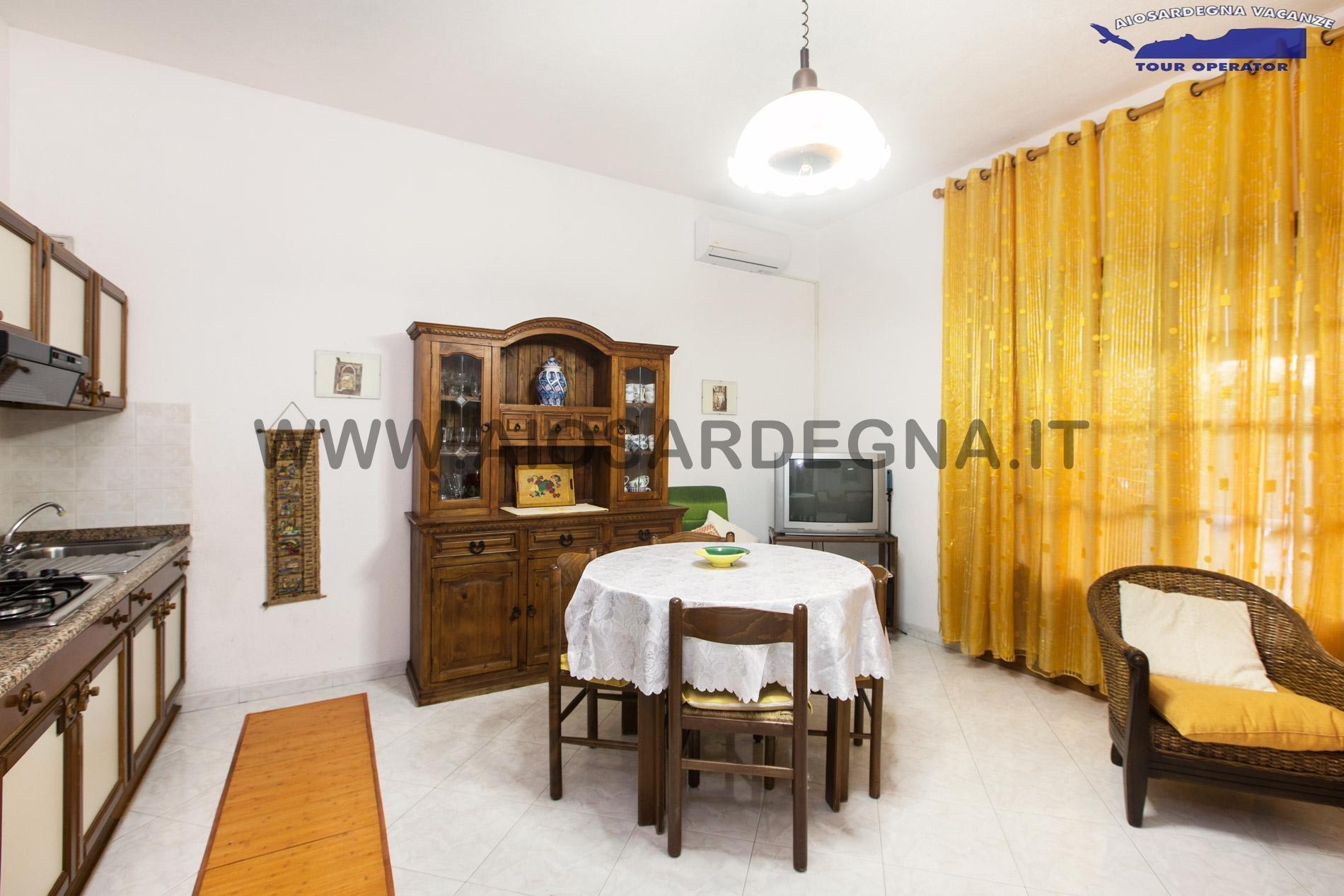 Dom Tre Południowa Sardynia Pula trzy pokoje z Wifi