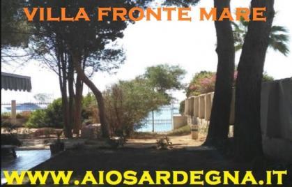 Villa Sulla Spiaggia Di Nora + Mono 9 PL Pula Sardegna