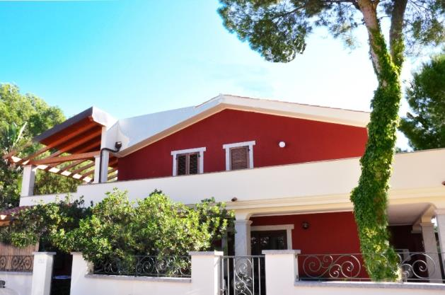 Vacation rental in Sardinia Porto Pino, Residence near the beach