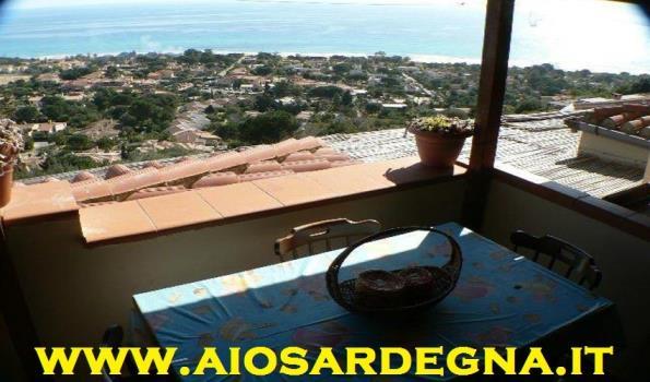 Casa Pino con vista panoramica sulla spiaggia Costa Rei
