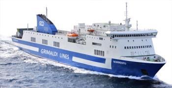 Grimaldi Lines un Traghetto da Crociera con Tratte Civitavecchia - Porto Torres e Olbia / Barcellona - Porto Torres / Livorno - Olbia