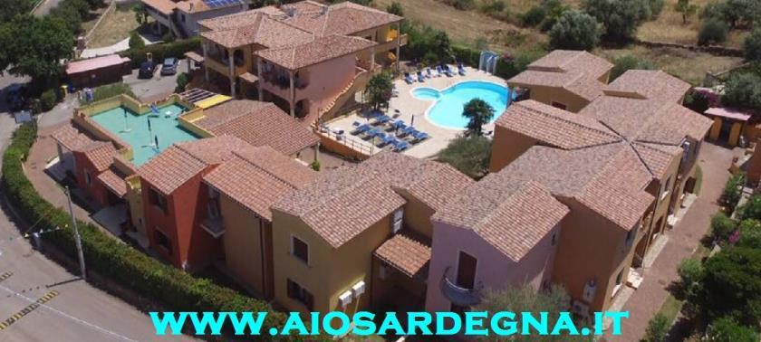 Résidence Panoramique avec Piscine Budoni Appartemen Vacance