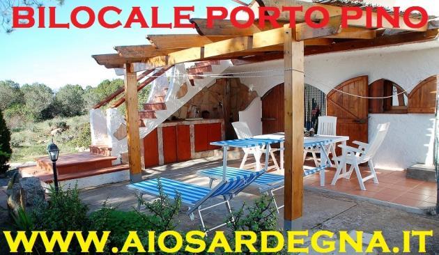 Porto Pino Appartement bord de la mer à louer pour des vacances d'étè