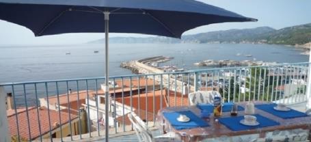 Appartamento Trilo Panoramico sul porto Cala Gonone