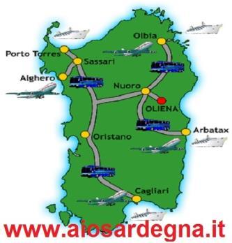 Offerte Servizio Trasferimenti dall'Aeroporto di Cagliari per tutta la Sardegna