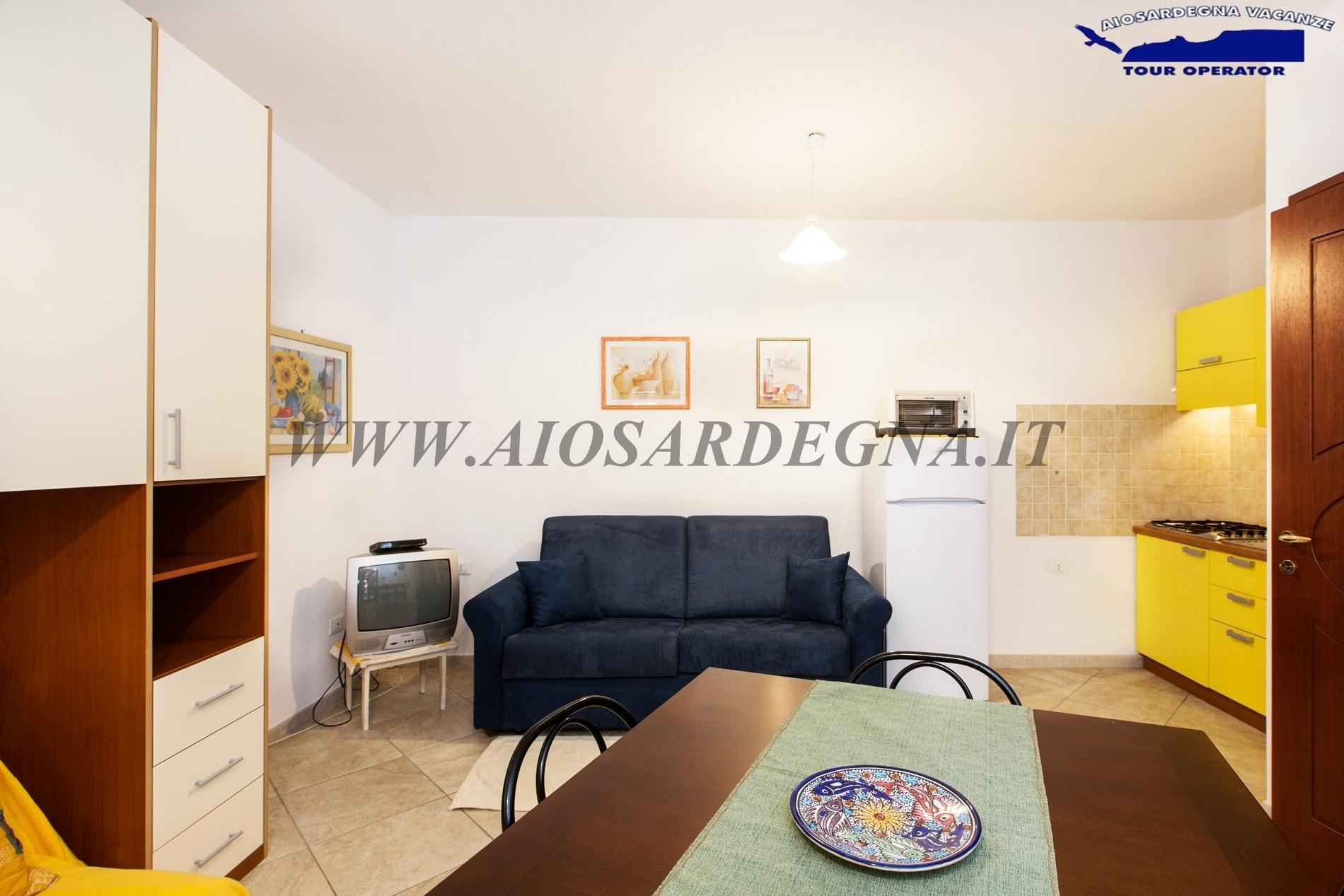 Appartamento Mulvoni Monolocale Piano Terra Pula Sardegna