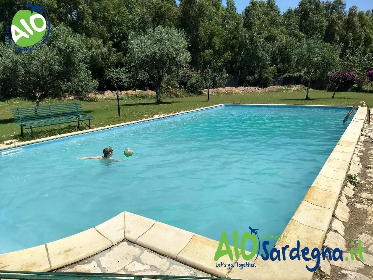 Villa con Piscina Privata in affitto a Pula Sud Sardegna