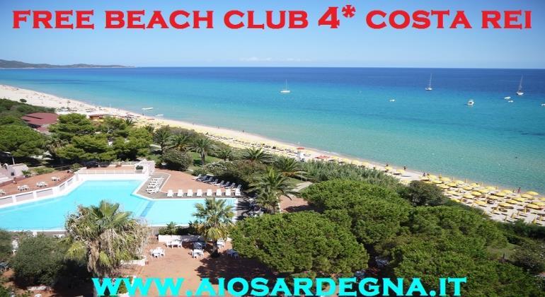 Vacanze 2017 in Sardegna Free Beach Club 4* Costa Rei